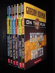 On the Run Complete Set, Books 1-6: Chasing the Falconers; The Fugitive Factor; Now You See Them, Now You Don't; The Stowaway Solution; Public Enemies; and Hunting the Hunter