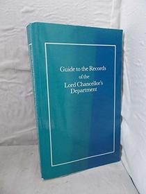 Guide to the Records of the Lord Chancellors Department