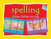 Spelling three-letter words