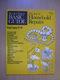 A. to Z. of Household Repairs: F-P Pt. 2