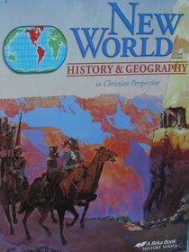 ABeka New World History and Geography Student Book