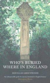Who's Buried Where