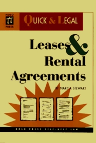 Leases & Rental Agreements (Quick & Legal Series)