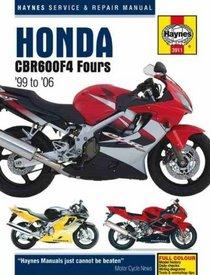 Honda CBR600F4 Fours 1999-2006 (Haynes Service & Repair Manual)
