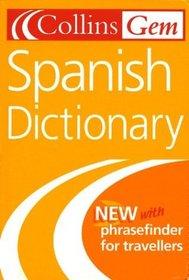 Collins Gem Spanish Dictionary, 6e (Collins Gem)