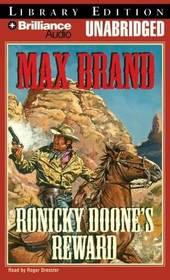 Ronicky Doone's Reward (unabridged audio cassette)