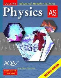 Physics AS (Collins Advanced Modular Sciences S.)