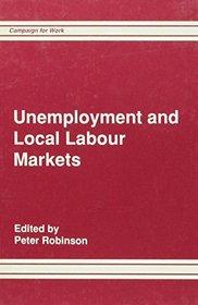 Unemployment and Local Labour Markets