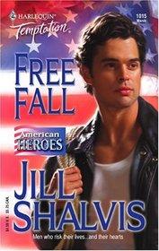 Free Fall (American Heroes) (Harlequin Temptation, No 1015)