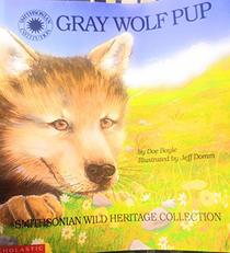 Gray wolf pup (Smithsonian wild heritage collection)