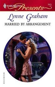Married By Arrangement (Harlequin Presents, No 2475)