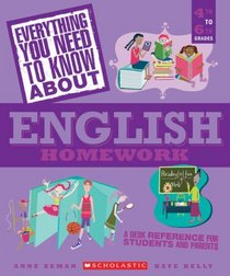 Everything You Need to Know About English Homework (Everything You Need...series)
