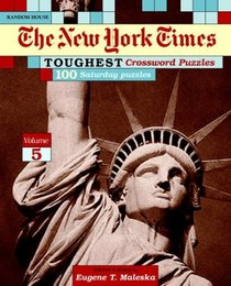 New York Times Toughest Crossword Puzzles, Volume 5 (NY Times)