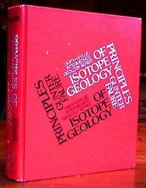 Principles of Isotope Geology (Smith & Wyllie intermediate geology series)