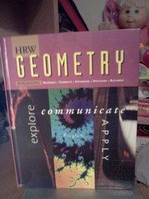 Geometry: Explore, Communicate  Apply