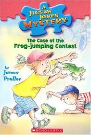 The Case of the Frog-Jumping Contest (Jigsaw Jones, Bk 27)