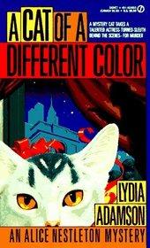 A Cat of a Different Color (Alice Nestleton, Bk 2)