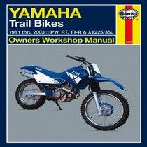 Yamaha Trail Bikes 1981 thru 2003 (Haynes Manuals)
