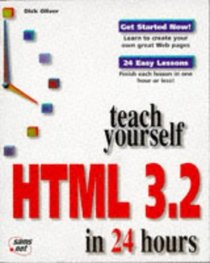 Teach Yourself HTML 3.2 in 24 Hours