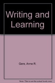 Writing and Learning
