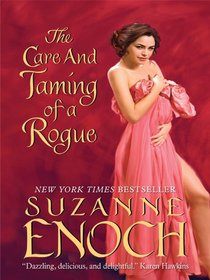 The Care and Taming of a Rogue (Adventurers' Club, Bk 1) (Large Print)