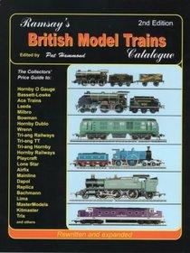 Ramsay's British Model Trains Catalogue