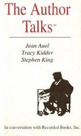 The Author Talks (Audio Cassette) (Unabridged)