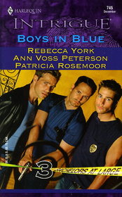 Boys in Blue (Bachelors at Large) (Harlequin Intrigue, No 745)
