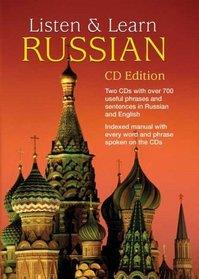 Listen & Learn Russian (CD Edition) (Listen & Enjoy Series)