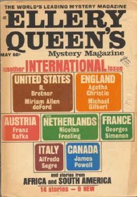 Ellery Queen's Mystery Magazine, May 1969: Special International Issue (Vol. 53, No. 5)