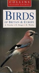 Birds of Britain  Europe (Collins Nature Guide)