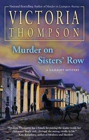Murder on Sisters' Row (Gaslight, Bk 13)