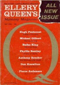 Ellery Queen's Mystery Magazine, May 1962 (Vol. 39, No. 5)