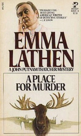 A Place for Murder (John Putnam Thatcher, Bk 2)