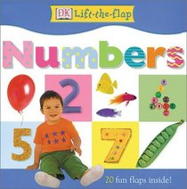 DK Lift the Flap Numbers Board Book