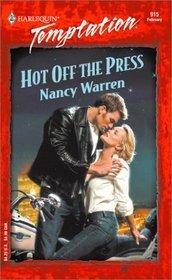 Hot Off the Press (Harlequin Temptation, No 915)