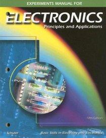 Electronics: Principles and Applications, Experiments Manual