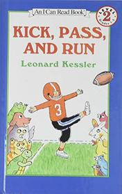 Kick, Pass, and Run (I Can Read)