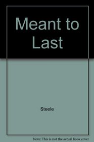 Meant to Last (Critical issues series)