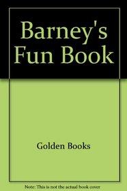 Barney's Fun Book