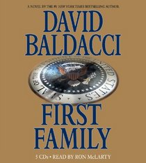 First Family (Sean King and Michelle Maxwell, Bk 4) (Audio CD) (Abridged)