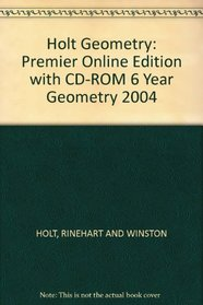 Premier Online Ed W/CD-R Geom 2004/6 Yr