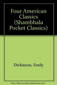 Four American Classics (Shambhala Pocket Classics)