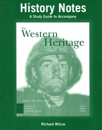 History Notes: A Study Guide to Accompany