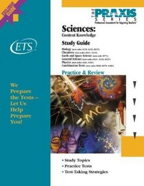 Sciences: Content Knowledge Study Guide (Praxis Study Guides)