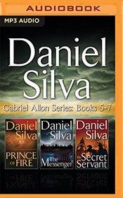 Daniel Silva - Gabriel Allon Series: Books 5-7: Prince of Fire, The Messenger, The Secret Servant
