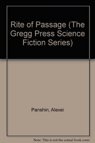 Rite of Passage (The Gregg Press Science Fiction Series)