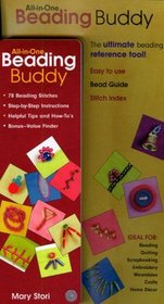 All-in-One Beading Buddy:   78 Beading Stitches   Step-by-Step Instructions  - Helpful Tips and How-To's - Bonus-Value Finder