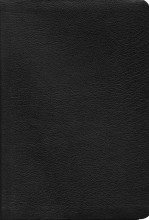 Biblia De Estudio Ryrie, Piel Negra/Ryrie Study Bible Black Leather