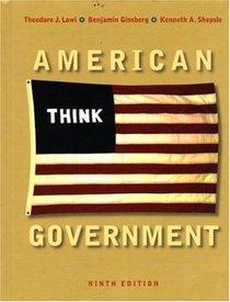 American Government, Ninth Regular Edition